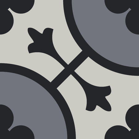 tuiles Encaustique pattern EPS 10