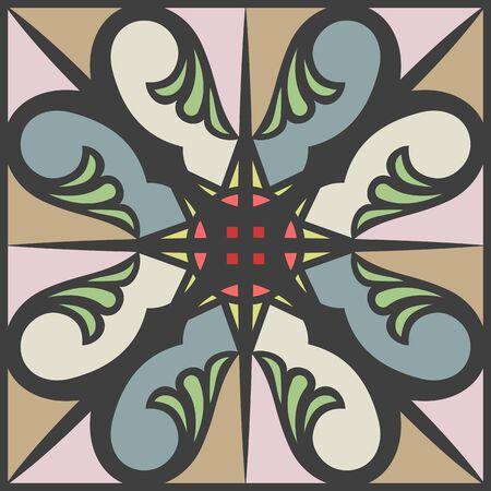 encaustic: Encaustic tiles seamless pattern