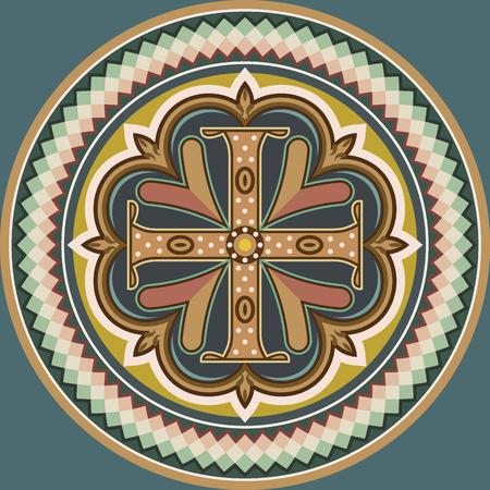 비잔틴 양식의 십자가