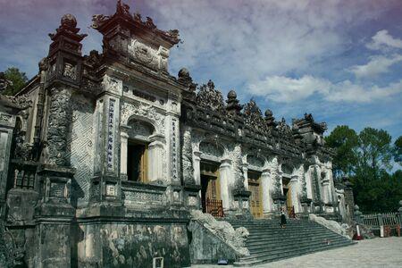 hue: tomb of Khai Dinh, Hue city, Vietnam