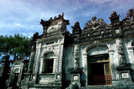 tomb of Khai Dinh, Hue city, Vietnam
