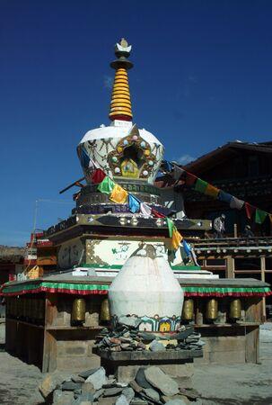 shangrila: temple of Tibet style in Shangrila, China