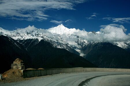 shangrila: on the road to Shangrila, China