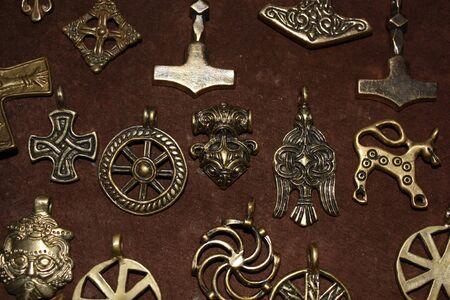 brooch: Ancient treasure - viking age