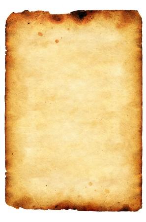 pergamino: A�ada papel viejo grunge Foto de archivo