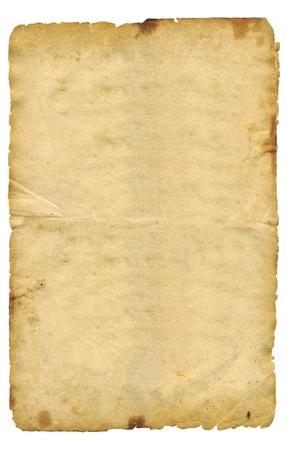 Grunge vintage old paper photo