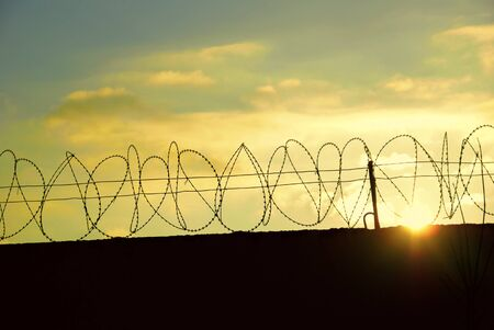 Barbed wire Stock Photo - 9363162