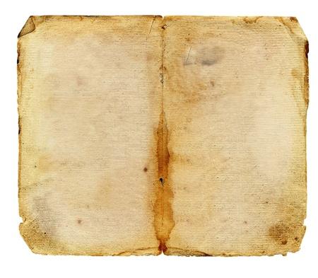 wrinkled paper: Grunge vintage old paper