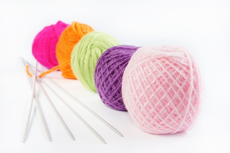 Accessories for knitting photo