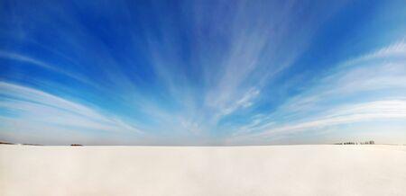 Winter-Wüste Standard-Bild - 12728603