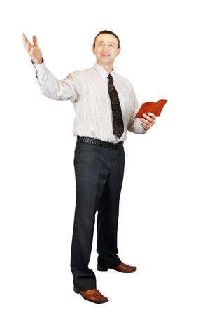 oratory: Speaking preacher