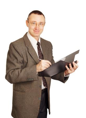 Male secretary photo