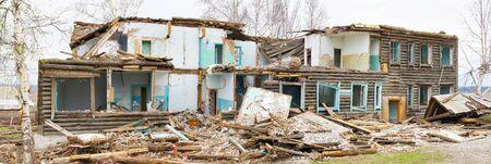 Old broken wooden building Stock Photo - 13546333