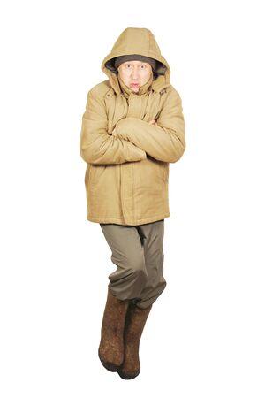 Frozen man Stock Photo - 17362021