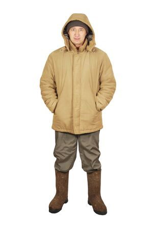 Man in winter clothes Stock Photo - 17362023
