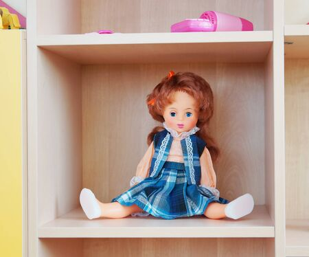 Doll on a shelf