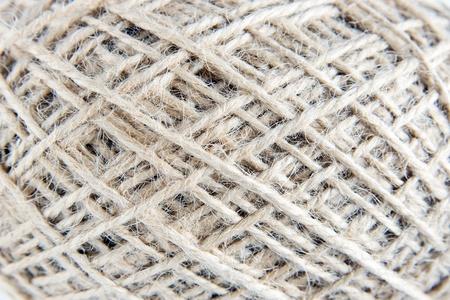 hank: Texture Of Twine Hank Stock Photo