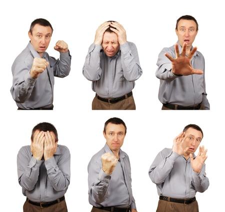 Negative Human Emotions Reklamní fotografie
