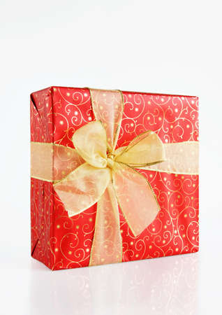 stupendous: Big Beautiful Gift Box Stock Photo