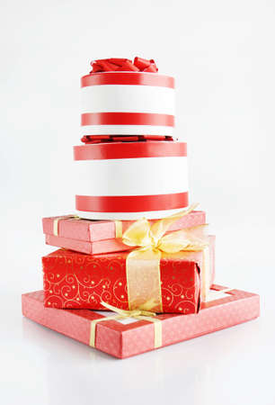 stupendous: High Pile Of Beautiful Gift Boxes