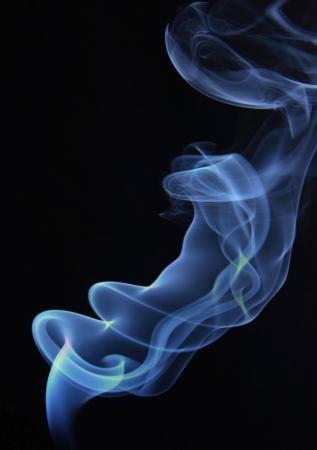 wisp: Fume rises up Stock Photo
