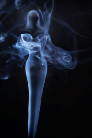 fume: Womanish image made of fume