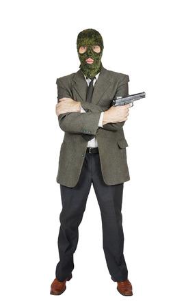 mafioso: Mafioso with a handgun