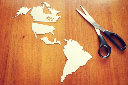 Changing geopolitical situation in America photo