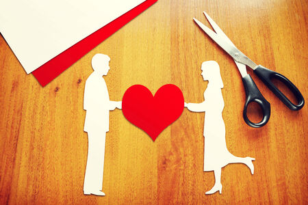 intercommunication: Concept of relations between man and woman