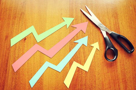 indices: Concept of indices growth Stock Photo