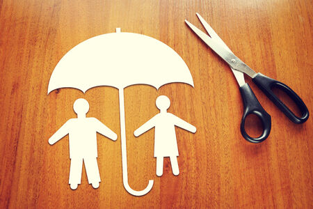 Concept of people insurance photo