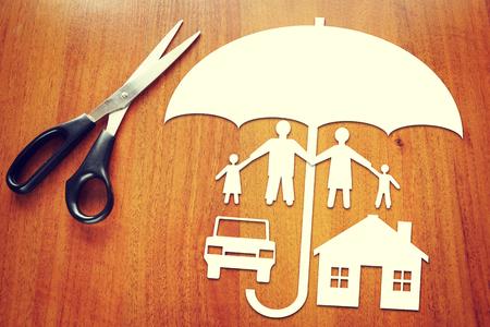 caja fuerte: Concepción de seguros Foto de archivo