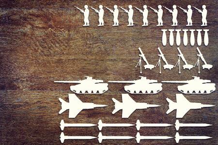 Concept of weapons 版權商用圖片