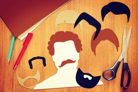 haircuts: Concept of different male haircuts