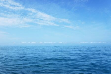 good weather: Wide outdoor seascape in good weather Stock Photo