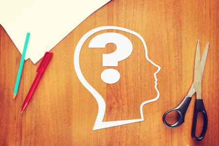 psicologia: Psicología de la mente humana. Imagen conceptual abstracta