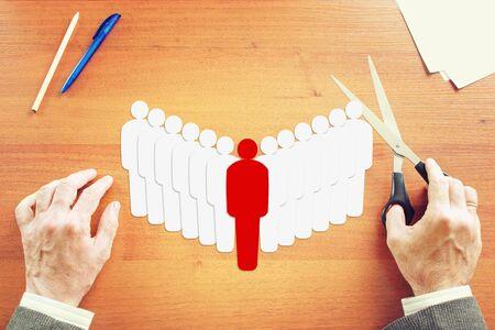 teambuilding: Leadership and teambuilding. Abstract conceptual image