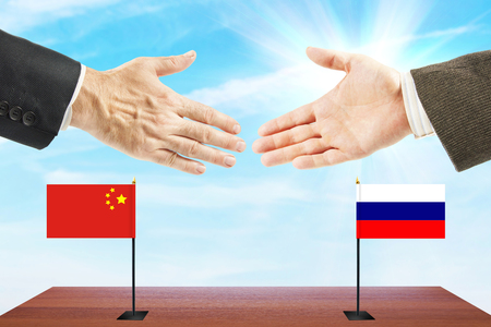 Friendly relations between Russia and China. Concept of talks and diplomacy
