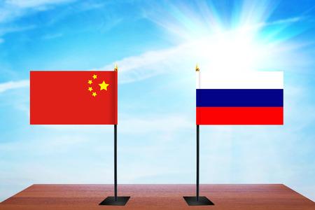 conversaciones: Concepto de conversaciones diplomáticas entre China y Rusia