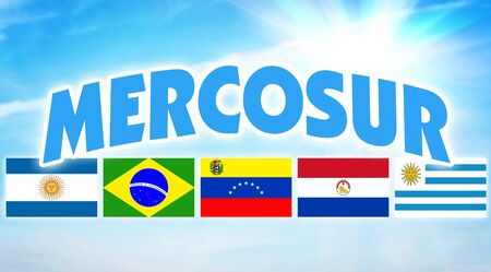 MERCOSUR. Political and economic alliance of some countries of South America