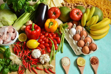 Los 5 grupos de alimentos