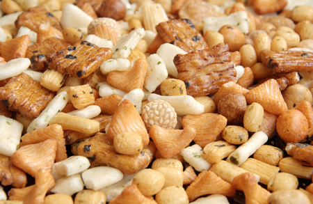 fussy: Party snack mix; Snacks are important in the party