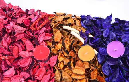 potpourri: colorful and various scents of potpourri