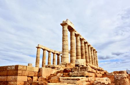 The temple of Poseidon, Cape Sounio Greece