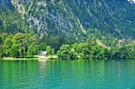 Attersee,Kammersee or Lake Atter is  is the largest lake of the Salzkammergut