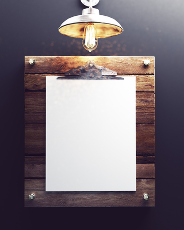 frame mockup portrait 免版税图像