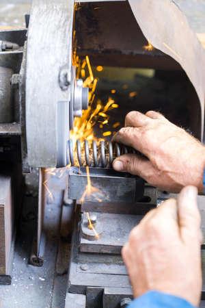 sharpening machine parts to plumbing