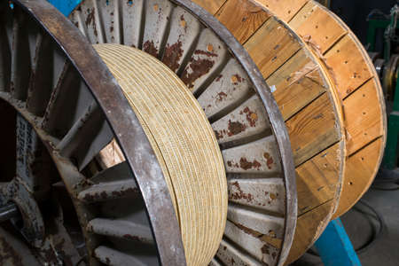 insulation for electrical coils on an industrial reel