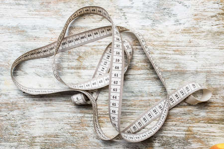 Centimeter for tailors and sports for measuring Standard-Bild