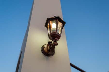 street stylized lamp